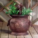 Hervidor de cobre con Jardinera - Fuente