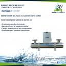 Purificadores - IndMass - Acero Inox EB-155-SS